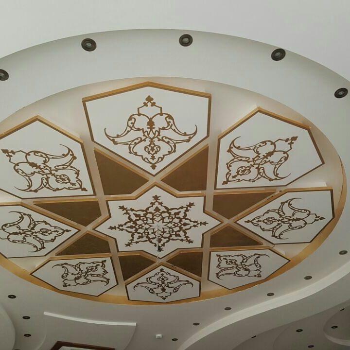 پتینه کاری روی سقف و ابزار