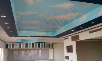 نمونه نقاشی سقف ساختمان